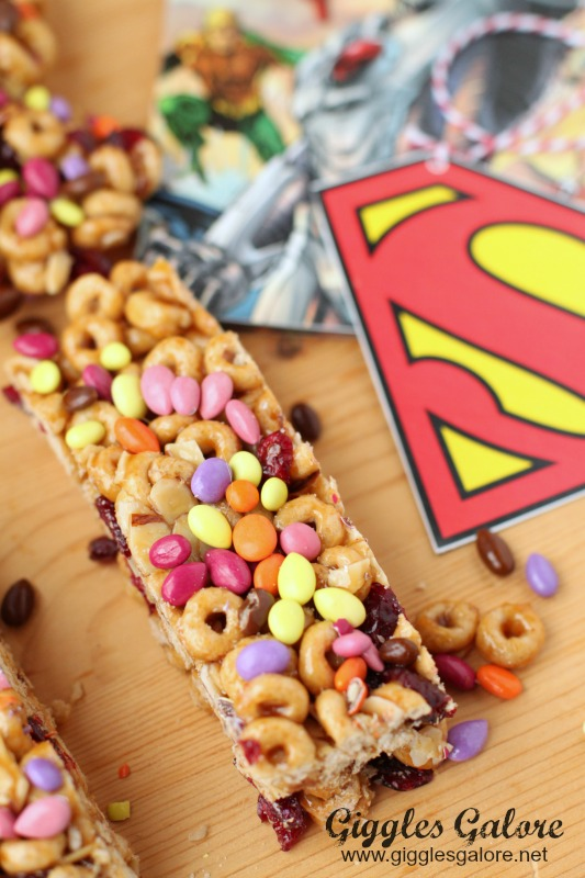 Superhero Cheerio Bars