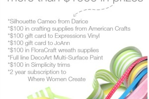 The Ultimate Craft Room Giveaway