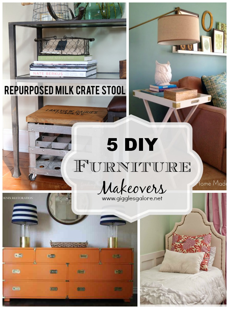 5 DIY Furniture Makeovers