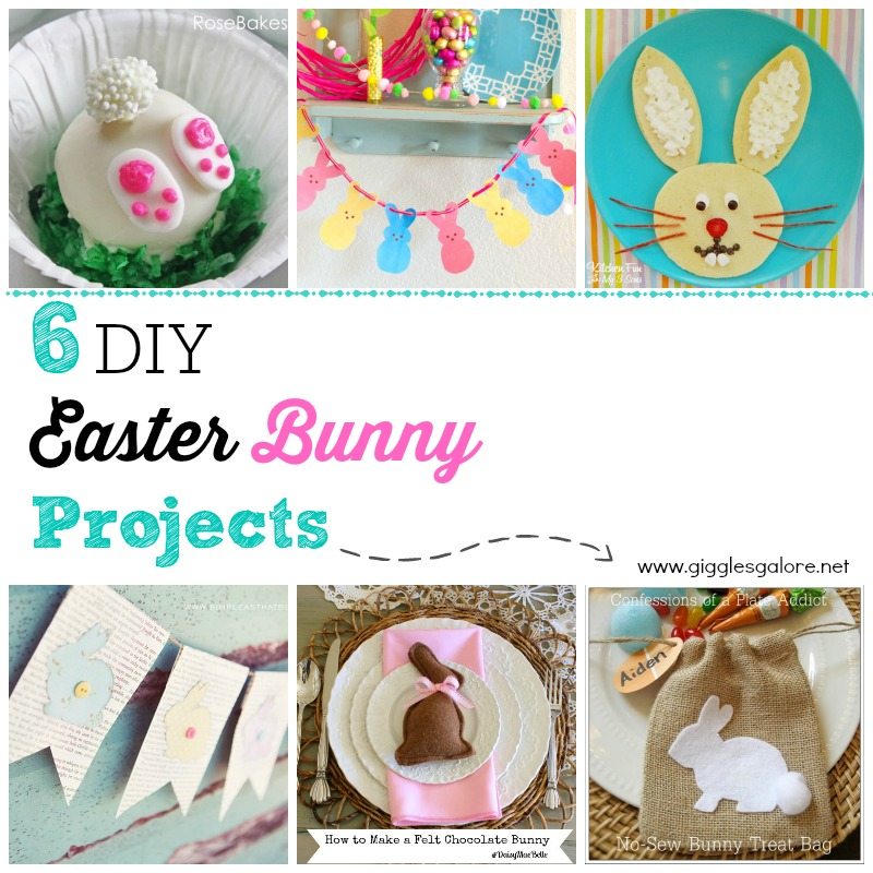 6 DIY Easter Bunny Projects