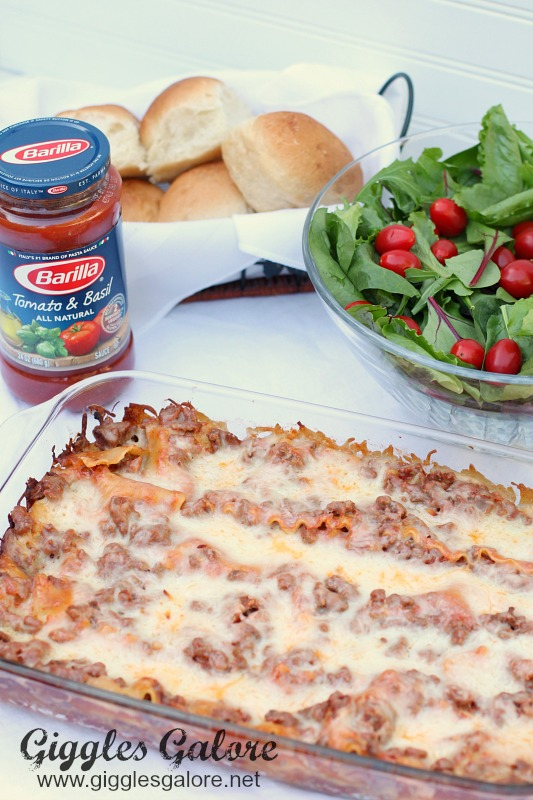 Barilla Easy Lasagna Recipe