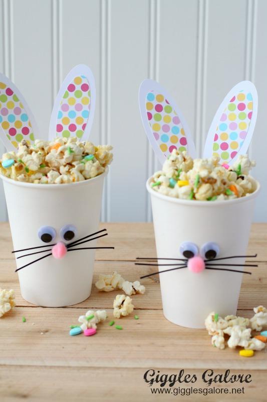 DIY Easter Bunny Cups