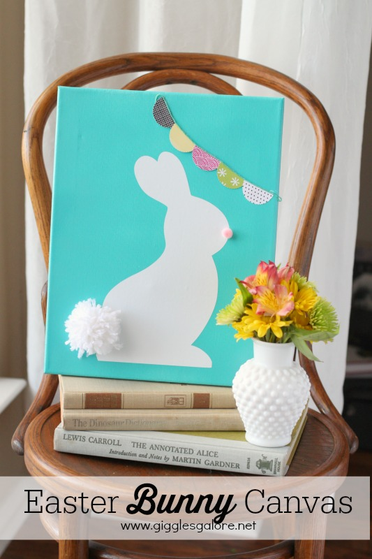 Easter Bunny Canvas Giggles Galore