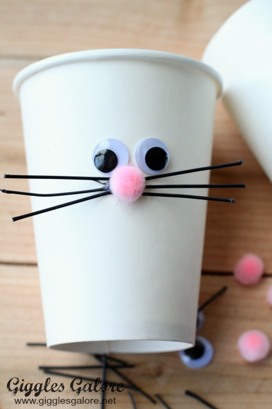 Easter Bunny Cup Face