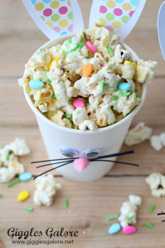 Easter Bunny Cups with Bunny Bait