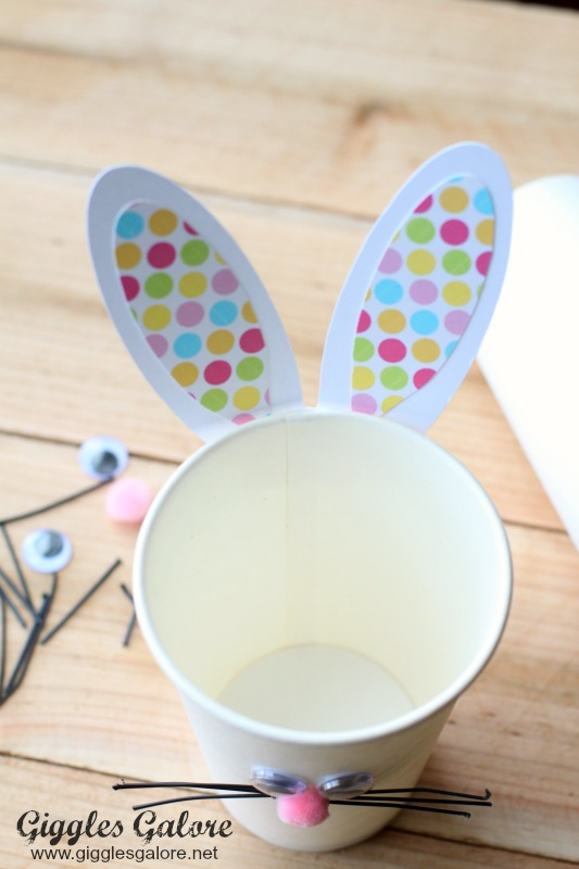 Easter Bunny Ear Cups