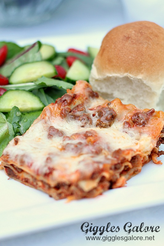 Easy Lasagna Dinner Recipe