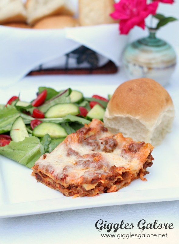 Easy Lasagna Recipe_Giggles Galore