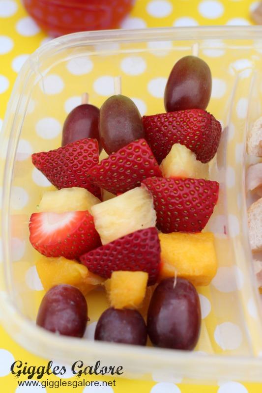 Fruit Kabob Lunch