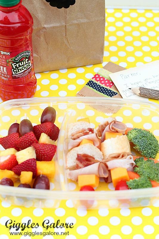 Healthy Field Trip Lunch