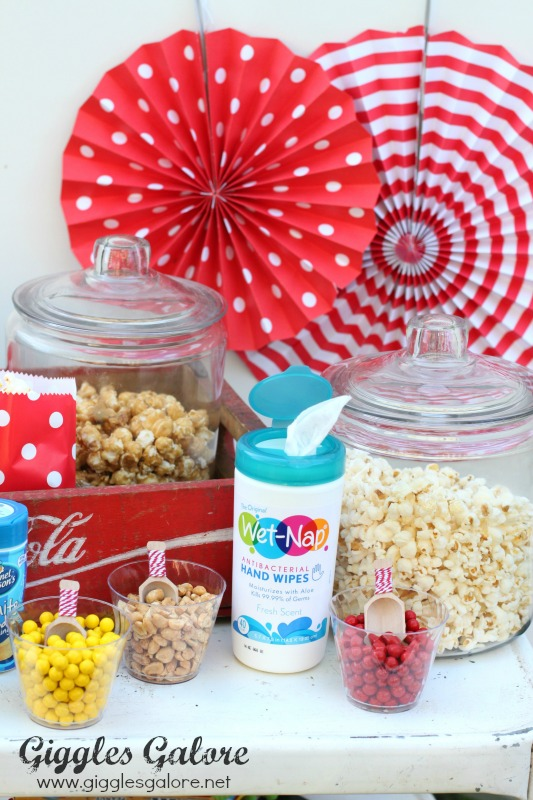 Make Your Own Popcorn Bar