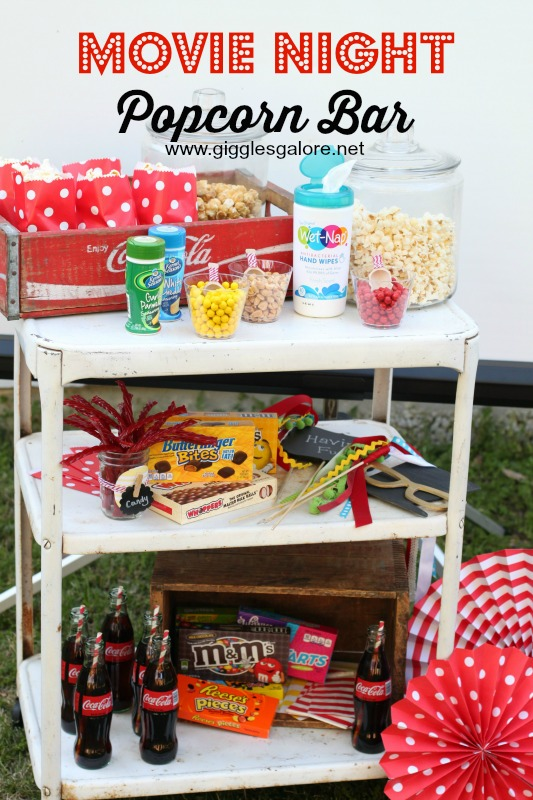 Movie Night Popcorn Bar_GigglesGalore