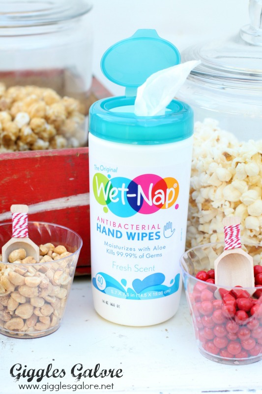 WetNap Hand Wipes