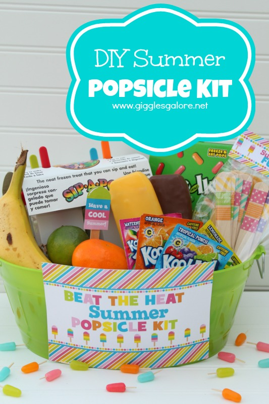 DIY Summer Popsicle Kit