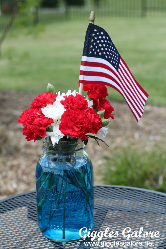 Memorial Day Flower Centerpieces