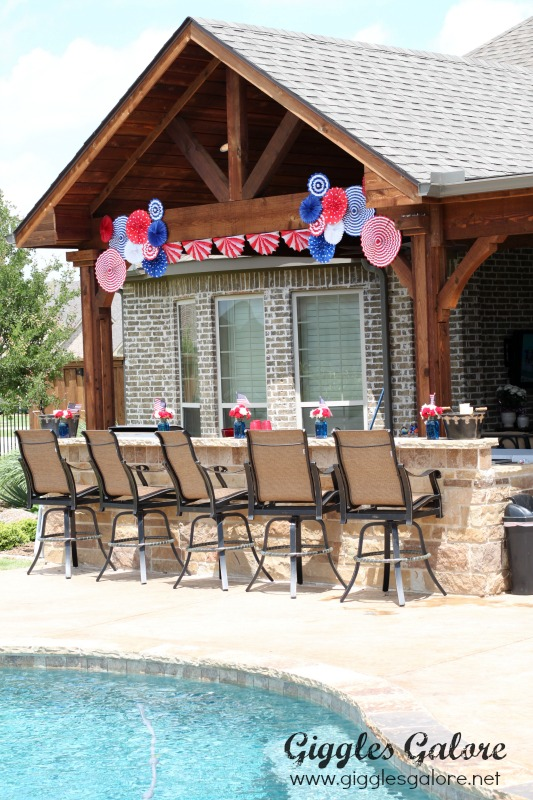 Memorial Day Pool Party Decorations
