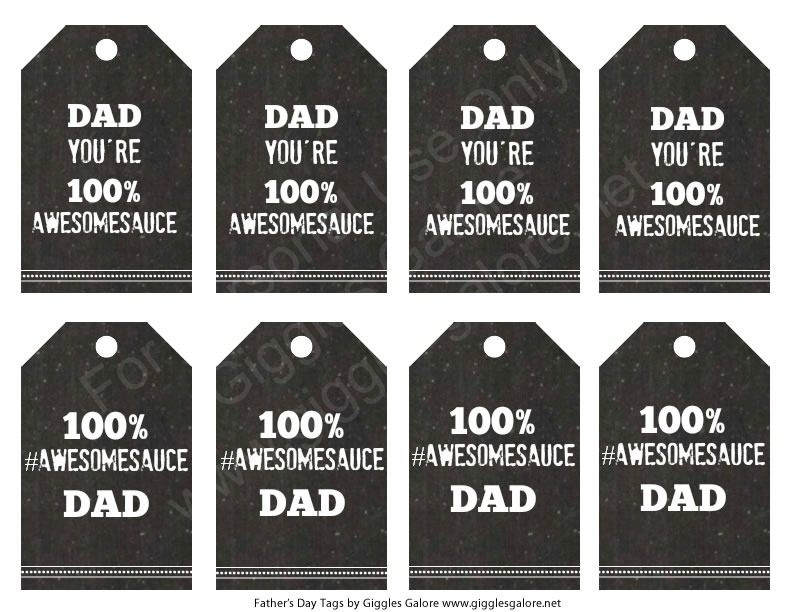 Dad Awesomesauce Tags
