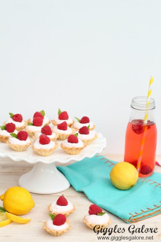 Mini Lemonade Desserts