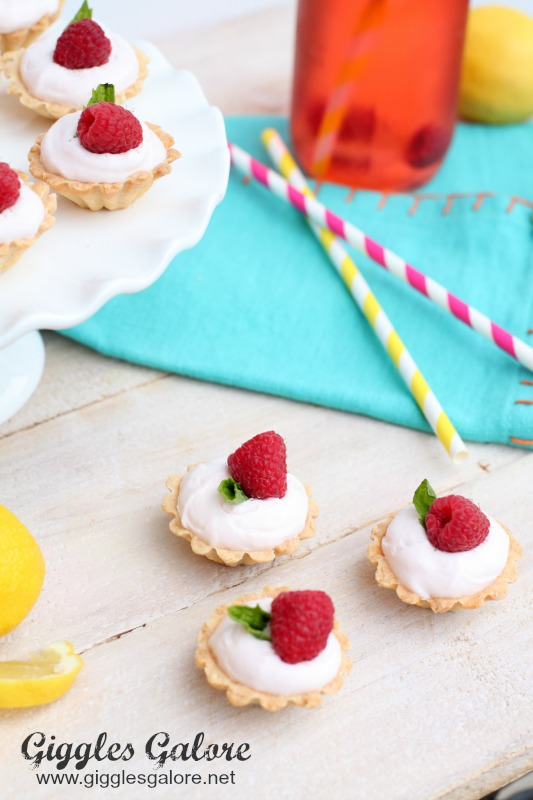 Raspberry Pink Lemonade Tarts