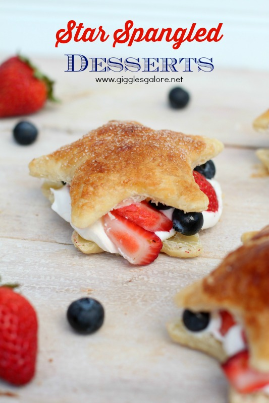 Star Spangled Desserts by Giggles Galore