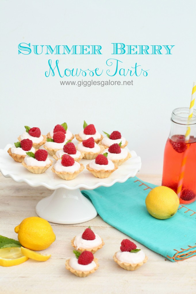 Summer Berry Mousse Tarts_Giggles Galore