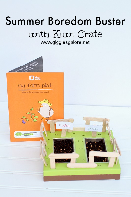 Summer Boredom Buster with Kiwi Crate
