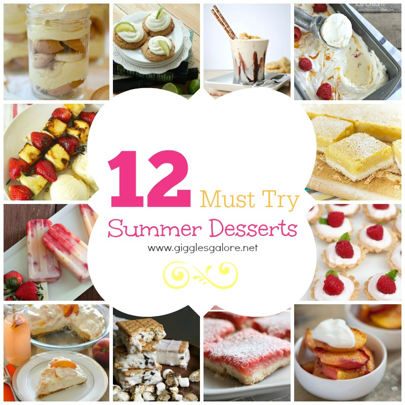 12 Must Try Summer Desserts
