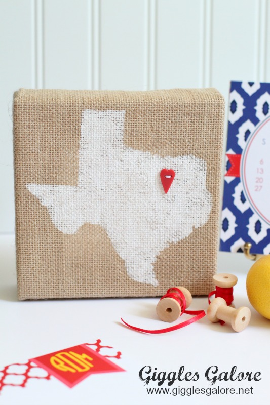 Burlap Home State Canvas_Michaels Raw Bar