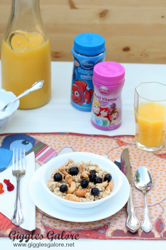 Granola and NatureSmart Gummy Vitamins