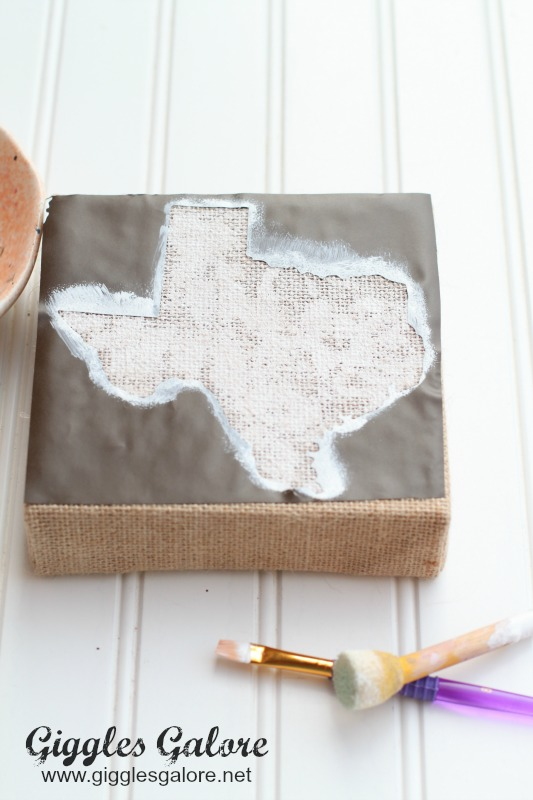 Painting Texas Canvas