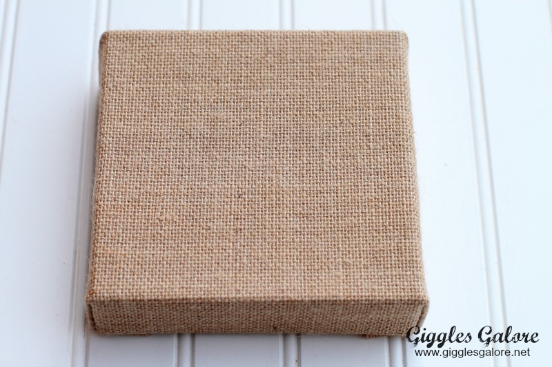 Raw Bar Burlap Canvas