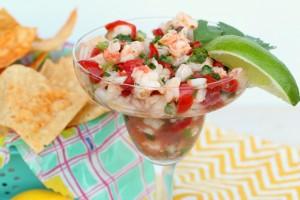 Shrimp Ceviche Recipe with Texas Gulf Shrimp