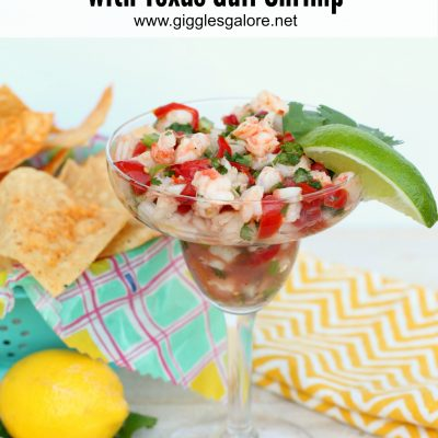 Shrimp Ceviche Recipe with Texas Gulf Shrimp