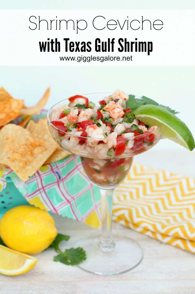 Shrimp Ceviche with Texas Gulf Shrimp_Giggles Galore