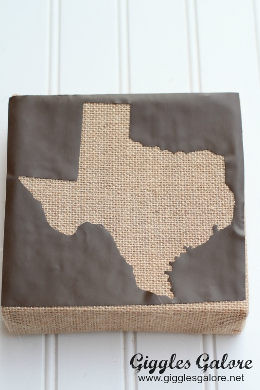 Texas Shape Vinyl