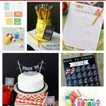 10 Free Back to School Printables + Giveaway