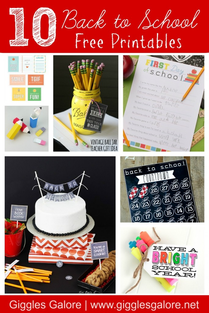 10 Back to School Free Printables_Giggles Galore