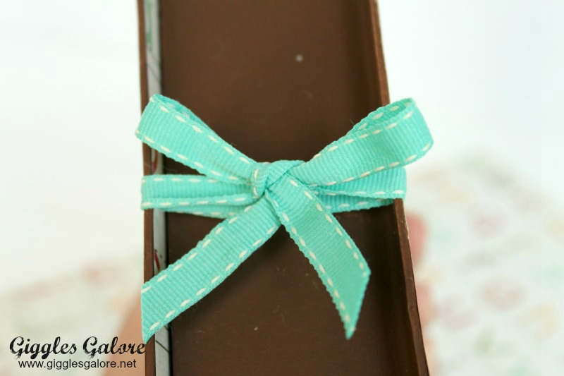 Back to School Time Capsule Bow