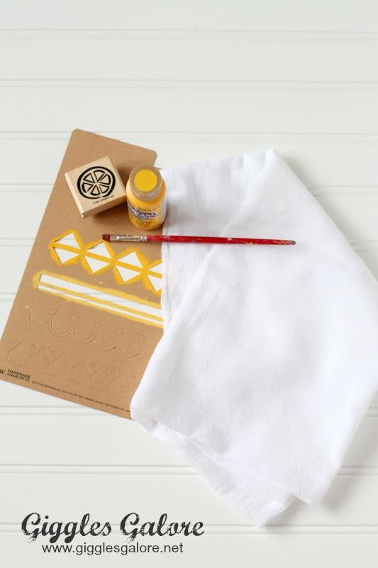 DIY Dish Towel Supplies