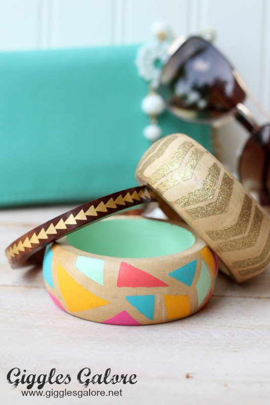 DIY Wooden Bangles