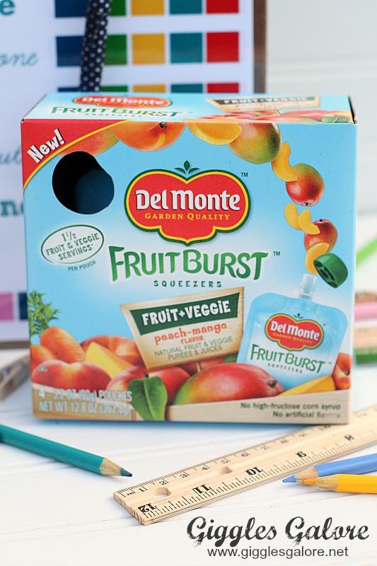 Del Monte Fruit Burst After School Snack