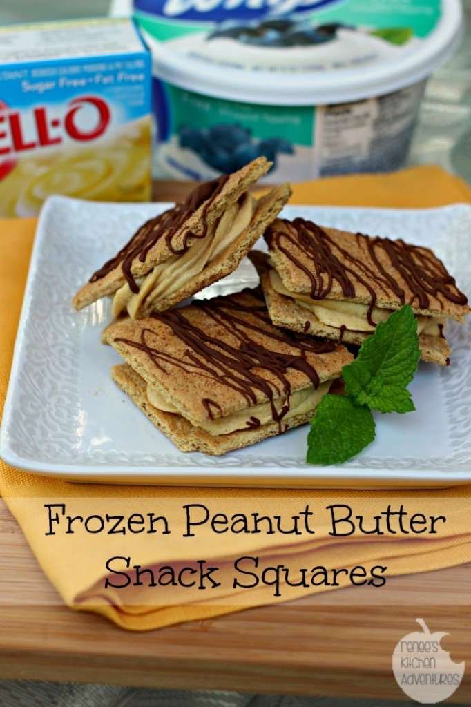 Frozen PB snack squares hero w text