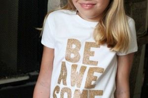 Gold Be Awesome Shirt
