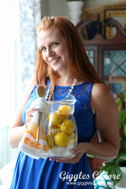 Homemade Lemonade Hostess Gift