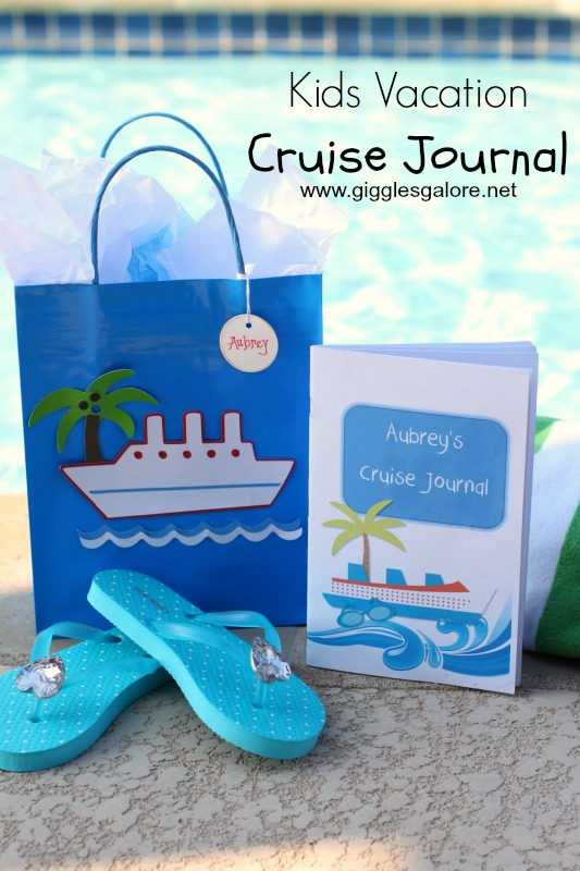 Kids Vacation Cruise Journal