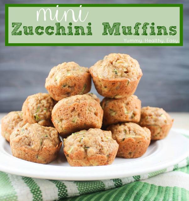 Mini Zucchini Muffins 1