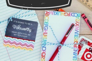 Noteworthy Teacher Gift and Free Printable