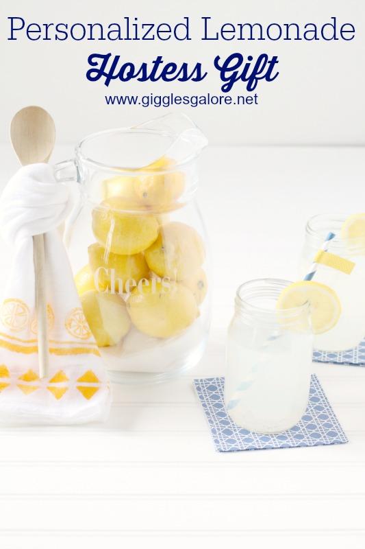 Personalized Lemonade Hostess Gift_Giggles Galore