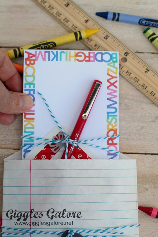 Teacher Gift Notepad