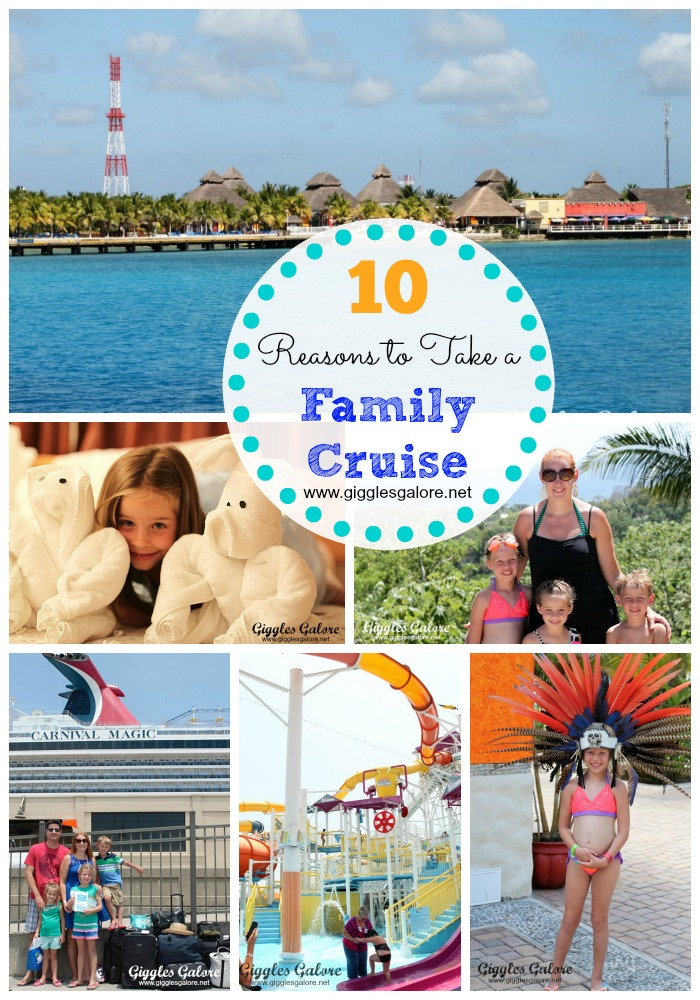 Top 10 reasons to take a cruise with your family for Best cruise to take